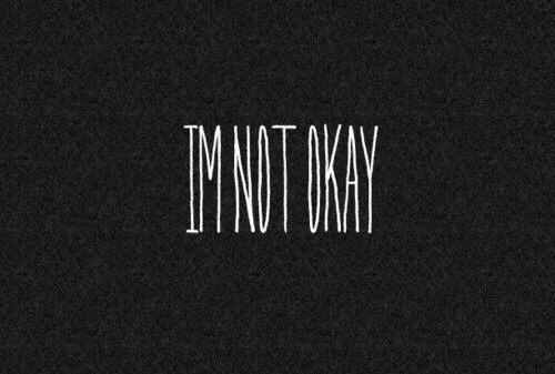 I'm not okay image