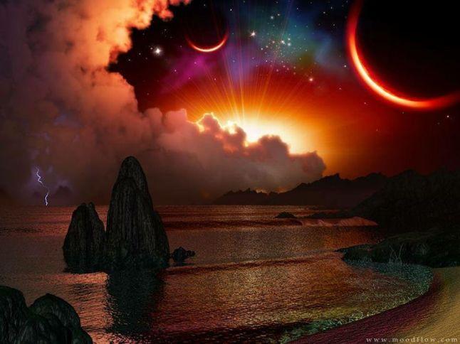 Stars Sun Moon Water