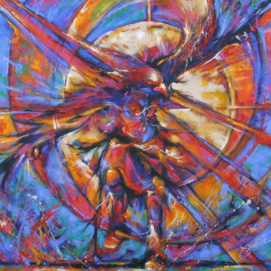 Arizona Red Lodge Eagle Dance