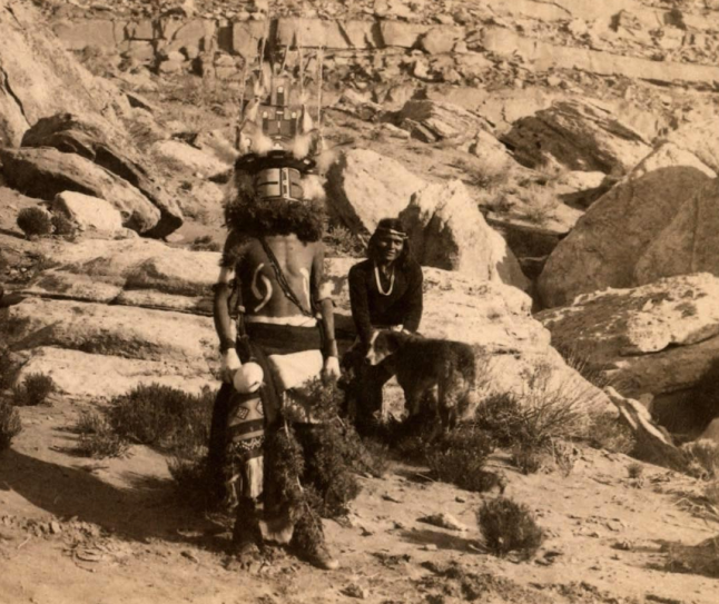 Chief of the Kachina Dance 1901
